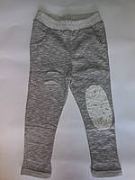 Спортивные модные подростковые штаны для девочек от 5 до 12 лет