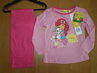 Детская пижама для девочки Шарлотта Земляничка Sun City, 3-8лет