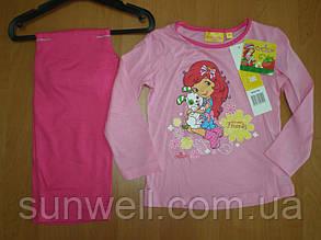 Дитяча піжама для дівчинки Шарлотта Суничка Sun City, 3-8лет