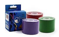 Кинезио тейп (Kinesio tape, KT Tape) эластичный пластырь BC-4863-5 (р-р l-5м x 5см)