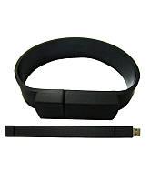 Оригинальная флешка-браслет (цвет: черный) 16 Гб