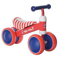 Беговел Hello Kitty 1004HK-1 колеса EVA+кож сиденье
