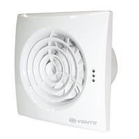 Вентилятор Вентс 125 квайт ТН (quiet) с таймером и датчиком влажности