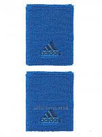 Напульсники теннисные Adidas Spring Large Wristband Shock Blue