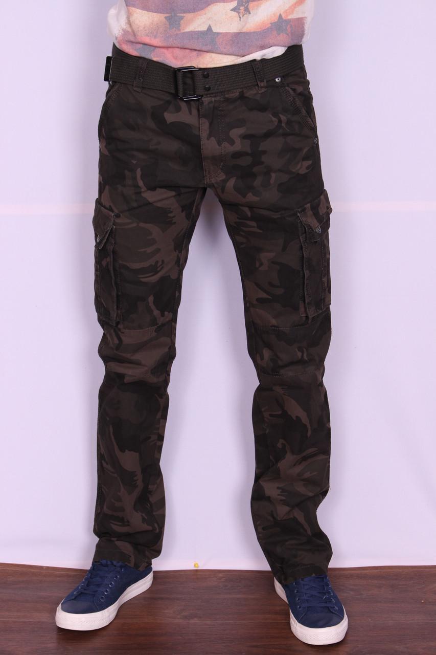 """Мужские джинсы-карго камуфлированные """"Iteno """"(размер 30-38.)"""