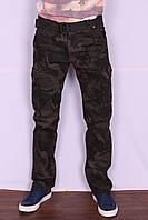 Мужские джинсы-карго камуфлированные Iteno (код 2096-9)