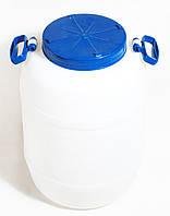Бочка Пластмассовая (50 л) пищевая  с крышкой