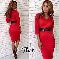 Модное женственное платье-футляр  (цвета)