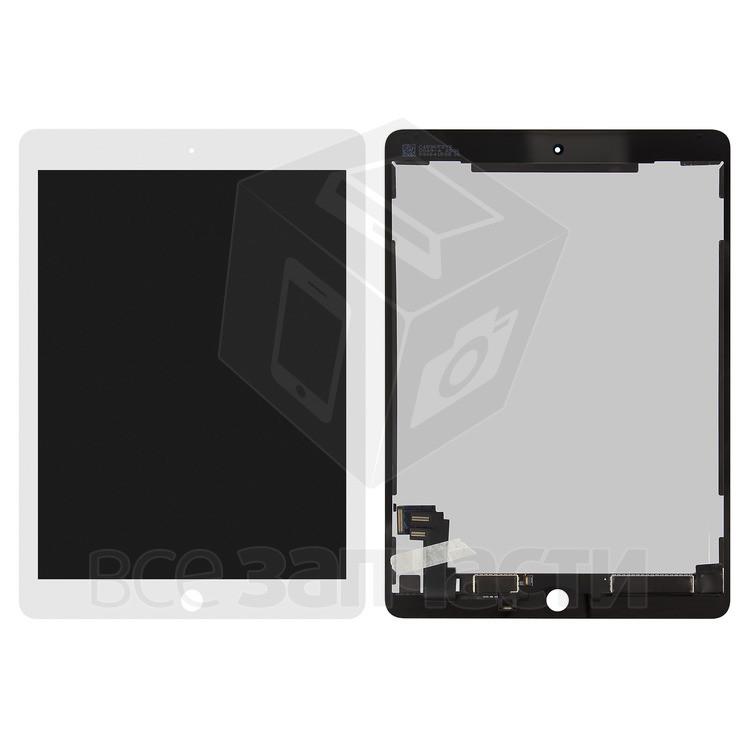 Дисплейный модуль для Apple iPad Air 2, белый