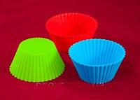 Набор силиконовых форм для выпечки кексов Empire ЕМ 7187, 6 шт
