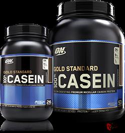 Казеин и комплексные ночные протеины