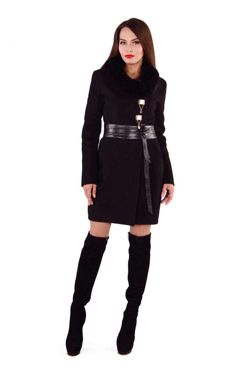 Женское красивое зимнее пальто арт. Магия зима Турция 4374