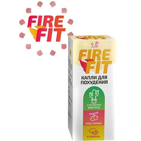 Капли для похудения fire fit 7