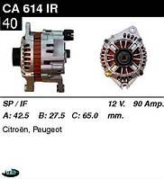 Генератор Fiat Citroen Lancia Peugeot 90Амр CA614IR