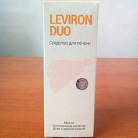 Leviron Duo для восстановления печени, фото 1