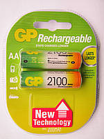 Аккумулятор GP Rechargeable АА палец r6 2100 mAh уп 2 шт
