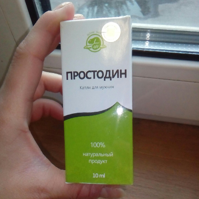 Простодин - капли от простатита в Калининграде
