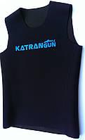 Неопреновая майка для плавания KatranGun 3 мм (без рукавов); нейлон/нейлон