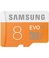 Карта памяти Samsung EVO Micro SD 8GB Class 10
