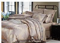 Жаккардовое постельное белье  Bella Villa J-0006