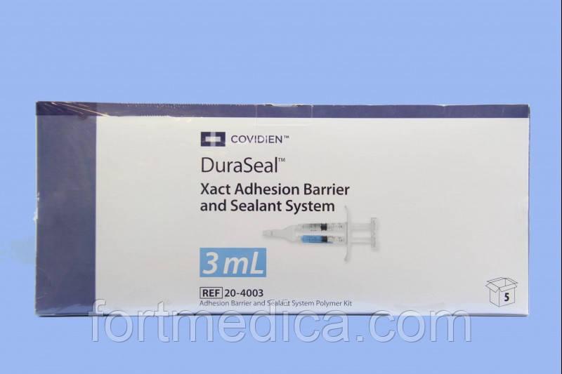 Система хирургическая герметизирующая DuraSeal Xact (для ТМО спинного мозга) с противоспаечным барьером, 3мл