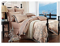Жаккардовое постельное белье  Bella Villa J-0007