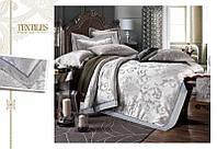 Жаккардовое постельное белье  Bella Villa J-0008
