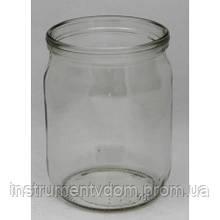 Банка стеклянная 0,5 л (10 упаковок по 15 шт) D-82