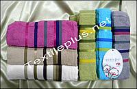Комплект махровых лицевых полотенец Cestepe Vip cotton Турция