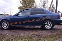 Дефлекторы окон (ветровики) COBRA-Tuning на HONDA CIVIC 5 Sedan 1991-1995