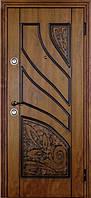 Двери входные модель Альма Lavoro  (винорит и патина)