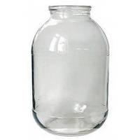 Банка стеклянная 3 л (10 упаковок по 6 шт) D-82