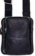 Кожаная мужская сумочка Mk12 черная