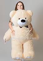 Плюшевые медведи 130 см (персик)