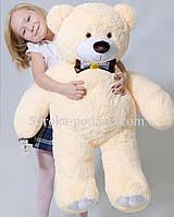 Мягкая игрушка медведь 110 см(персик)