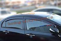 Дефлекторы окон (ветровики) COBRA-Tuning на HONDA CIVIC 8 Sd 2005-2011