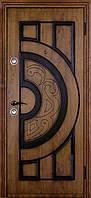 Двери входные модель Альма Piatto (винорит и патина)