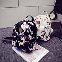 Рюкзак женский молодежный. Рюкзак с Цветами.