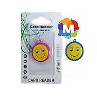 Card reader smile