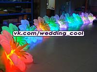Пневматичские надувные гирлянды/цветы (пневмоцветы) на свадьбу