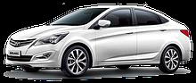 Автостекло на Hyundai accent / solaris / хундай акцент / солярис (седан, хетчбек) (2011-)