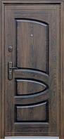 Двери входные 127+ бархатный лак