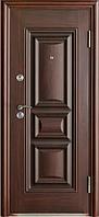 Двери входные 386+ бархатный лак