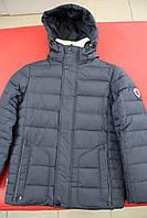 Куртка мальчик зима BLACK VINYL DC16-1135 СИНИЙ