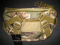 Сумки через плечо. Сумка тактическая, кобура, скрытого ношения пистолета., фото 1
