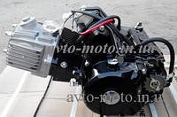 Двигатель 125 см3 Альфа, Дельта, Актив механика