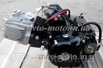 Двигун 125 см3 Альфа, Дельта, Актив механіка