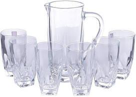 Набор кувшин + стаканы RCR Diamante (1+6)  250310