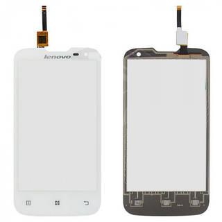 Сенсор (Touch screen) тачскрин Lenovo A830 белый