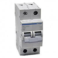 Автоматичний вимикач 2P 6kA C-40A 2M  MC240A Hager